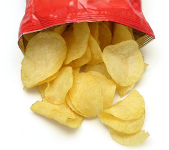 Plain crisps