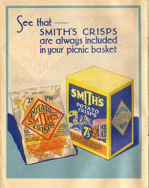 Poster for Smiths crisps