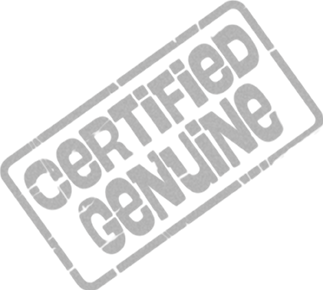 'Certified Genuine' stamp
