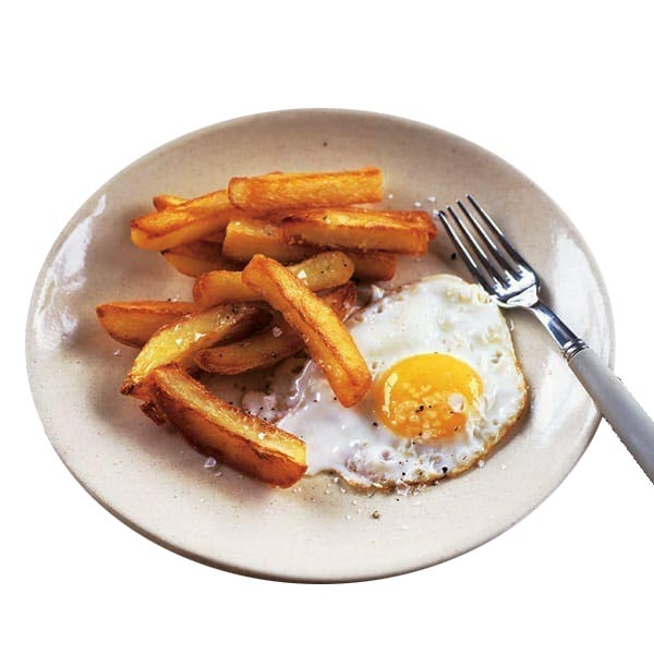 Egg and Chips