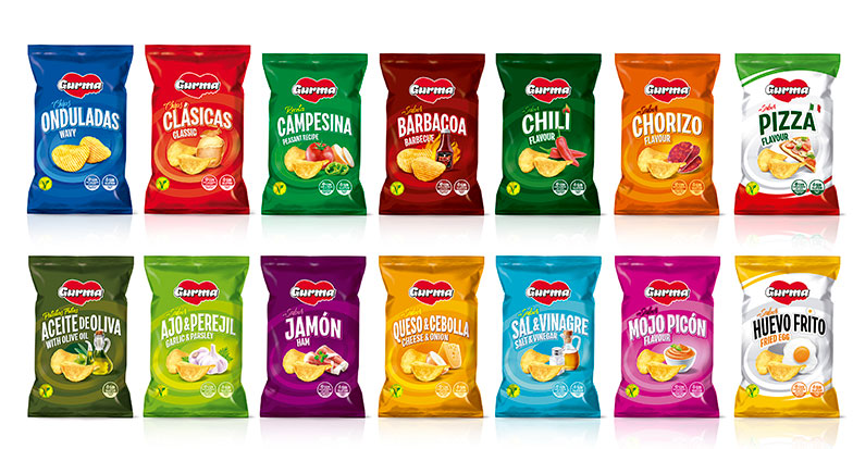 Gurma crisps selection