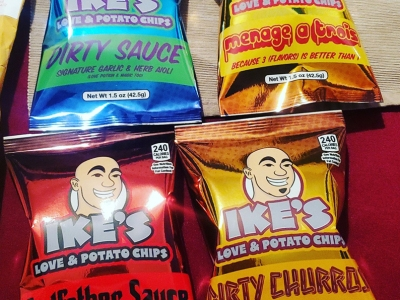 Four crisp flavours by Ike Shehadeh