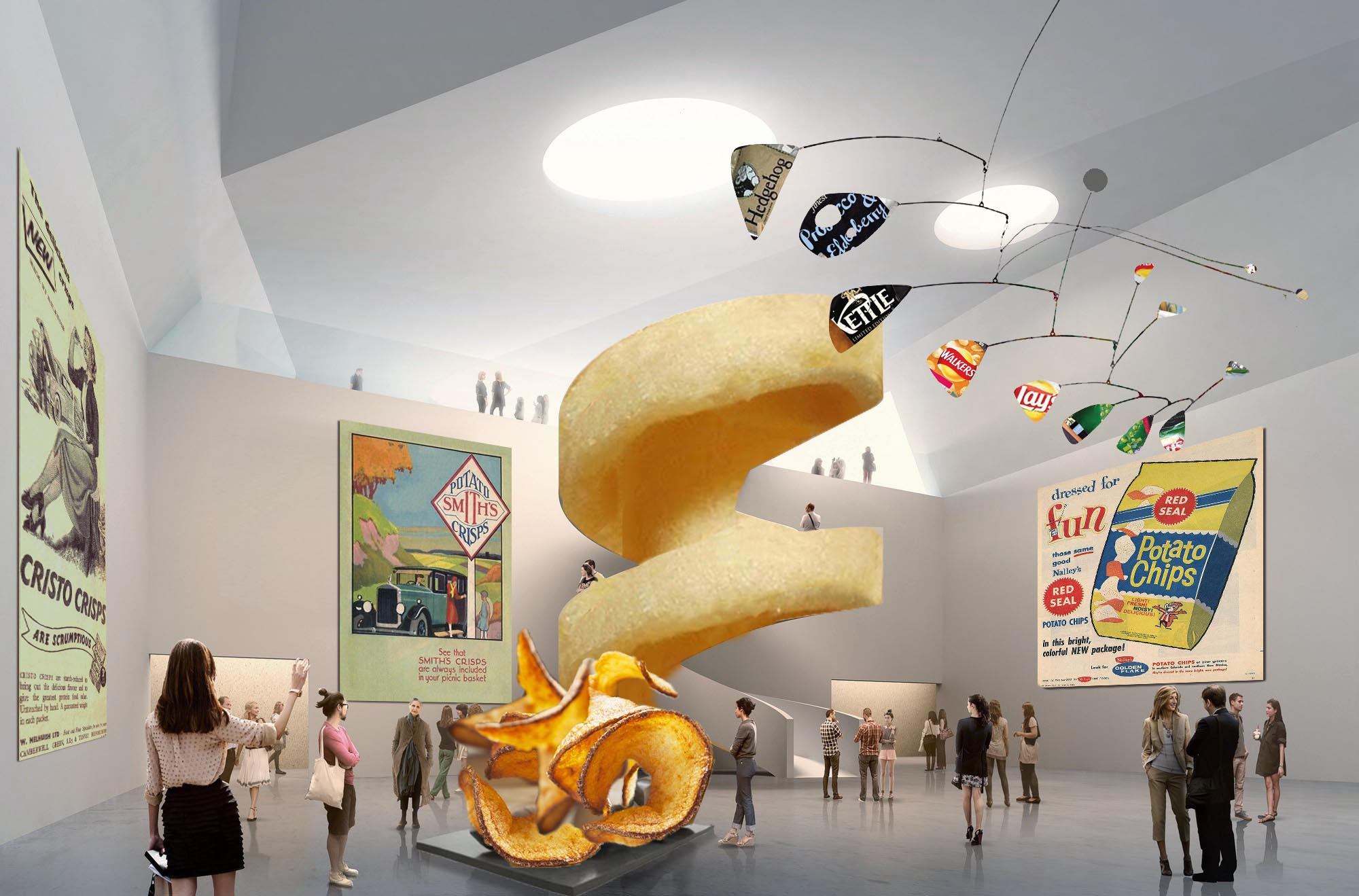 Museum of Crisps foyer (virtual)