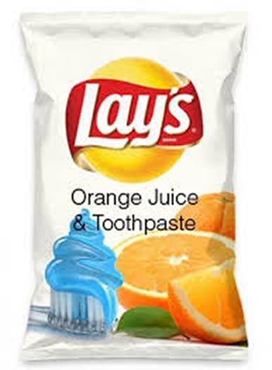 Orange Juice & Toothpaste