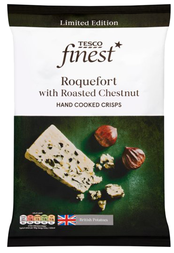 Roquefort with Roasted Chestnut