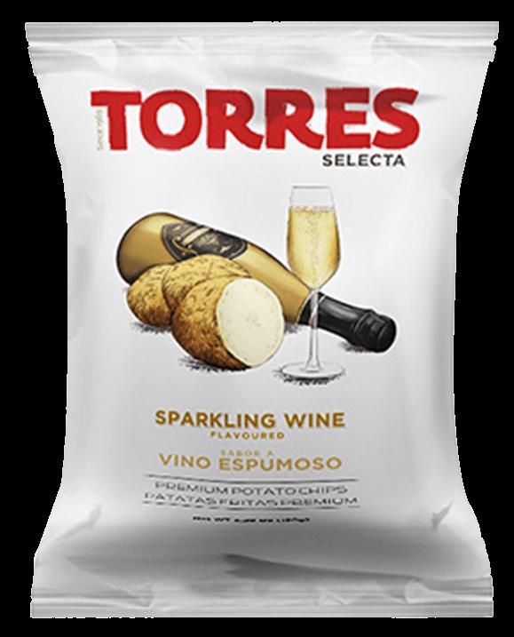 Sparkling wine flavoured crisps