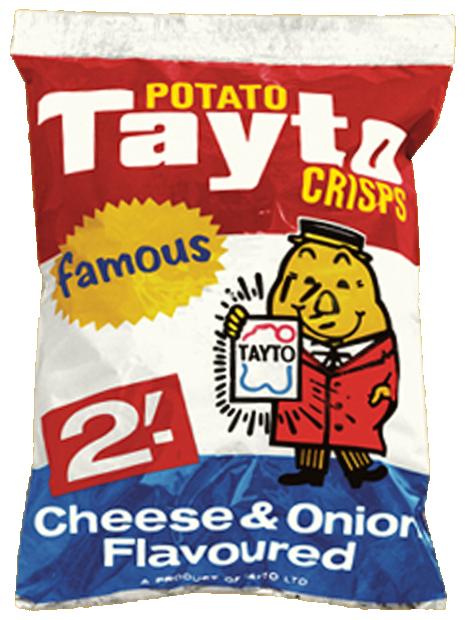 Tayto's cheese & onion