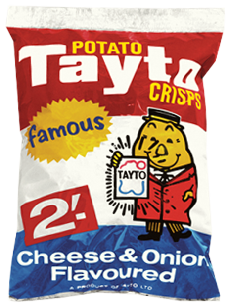 Tayto's cheese & onion