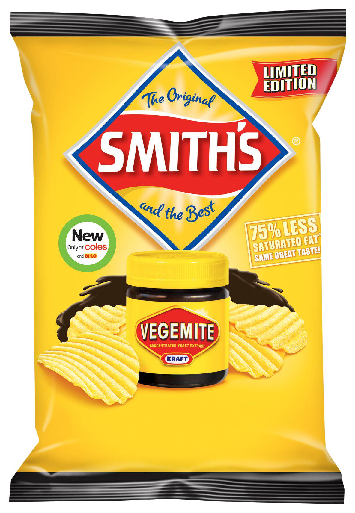 Vegemite flavour crisps