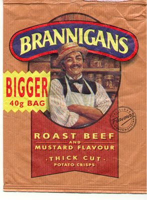 Roast Beef & Mustard crisps